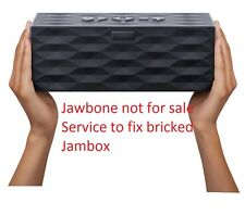 Service to fix Bricked jawbone Big jambox