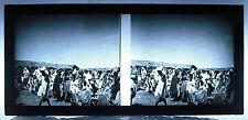 Photo stéréoscopique  photographie colonies Afrique 1900 Africa scène :