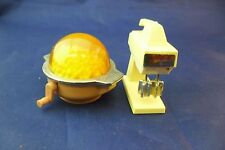 2 Vintage Barbie Doll Wind-Up-1980 Kitchen Mixer & 1996 Popcorn Maker.