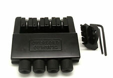 High Quality Black Headless BASS bridge for 4 String Electric Bass Parts New