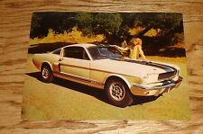 Original 1966 Ford Shelby GT350 Oversized Post Card Brochure 66 Mustang