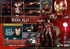 Hot Toys 1/6 MMS278D09 mark xliii 43 iron man en stock edition spéciale mib (4th)