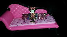 Swarovski Crystals & MINNIE MOUSE Betsey J. BARRETTE Pink/Clear