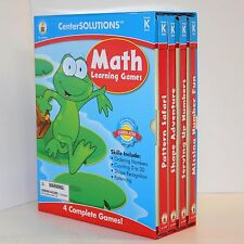 MATH Learning Games 4 Complete Games! Grade K math! center solutions.