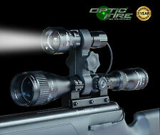 Opticfire tx-38 T38 XML LED ZOOM portata PISTOLA LIGHT LAMPING KIT Caccia Fucile Torcia