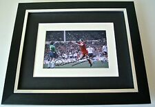 Ronnie Whelan SIGNED 10X8 FRAMED Photo Mount Autograph Display Liverpool & COA