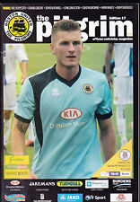 2013/14 BOSTON UNITED V BRACKLEY TOWN 08-02-2014 Skrill North & Teamsheet