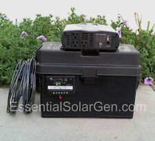 2500/5000 Watt Solar Generator 100 Solar Panel 100AH Battery Portable Emergency