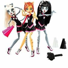 Monster High Purrsephone & Toralei & Meowlody