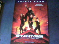 The Spy Next Door Original Movie Poster 27X39 Jackie Chan, Double-Sided Regular