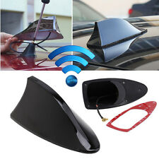 Car SUV Auto Roof Radio AM/FM Signal Shark Fin Aerial Antenna Replacement Black