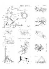 Motorcycle lift, 60 Patents, 700 Pages