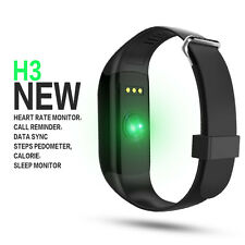 Smart Wrist Watch Bracelet Heart Rate Monitor Tracker for IOS Android iPhone