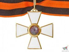 RUSSIAN IMPERIAL OFFICERS 3 CLASS ORDER OF SAINT GEORGE CROSS ON NECK, REPLICA