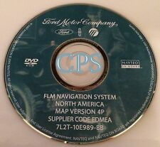 FORD LINCOLN MERCURY NAVIGATION DISC DVD CD NAVAGATION DISK GPS OEM MAP 4P