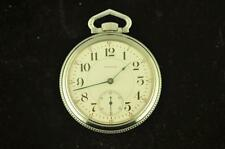 NICE VINTAGE 18S WALTHAM 21J CRESCENT ST POCKET WATCH FROM 1902 RUNNING