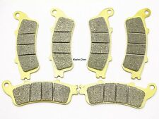 Front Rear Brake Pads For Honda GL 1800 1800A ABS Goldwing 2001-2015 FA261FR