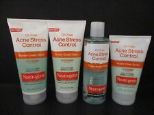 4 NEUTROGENA-OIL-FREE ACNE STRESS CONTROL PRODUCTS AS SHOWN EXP:1/18 JL 1311