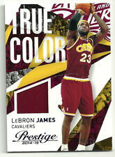2014-15 Prestige True Colors Materials Purple LeBron James #d 40/75