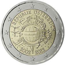 2 € Österreich 2012-  10 J. Euro Bargeld