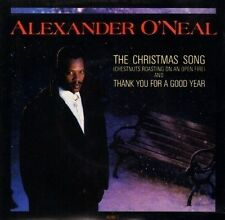 """ALEXANDER O'NEAL the christmas song chestnuts roasting on an open fire uk 7"""" PS"""