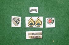 1/6 US Vietnam Tunnel Rat patch set