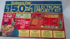 Vintage 150 in 1 Electronic Project Kit Radio Shack Science Fair
