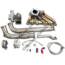 GT35 Turbo Manifold Downpipe Oil Line Kit For Cressida MX83 2JZ-GTE 2JZGTE103520