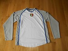 Kappa ITALIA National Soccer Team Goalie Goaltender Jersey Kit Mens Large FIFA