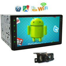 7inch Android 4.4 Double 2 Din InDash Car No DVD Radio Stereo WiFi 3G GPS+ Cam