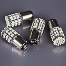 4x BAY15D 1157 White Car Tail Stop Brake Light Super Bright 64 SMD LED Bulb 12V