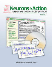 Like NEW Neurons in Action 2 By John W. Moore CD-ROM