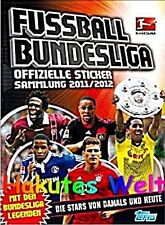 Topps - Fußball Bundesliga Sticker 2011/2012 11 12 - 200 lose Sticker + Album