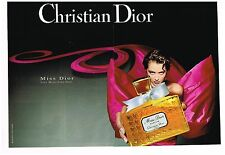 Publicité Advertising 1993 (2 pages) Parfum Miss Dior par Christian Dior