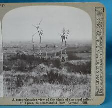 WW1 Stereoview View Of Cruel Salient Of Ypres From Kemmel Hill Realistic Travels