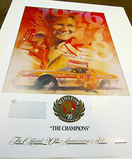 CALE YARBOROUGH LIMITED EDITION NASCAR WINSTON CUP CHAMPION LITHOGRAPH