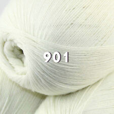 Sale 1 skeins x 50gr LACE Soft Crochet Acrylic Wool Cashmere hand knitting Yarn