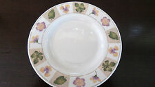 Sakura Majesticware Stoneware Dried Flowers Bread Plates x1White w/ Leaves,Petal