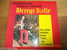 THE IRISH/SCOTTISH CORDOVOX SOUND OF BREEGE KELLY - LP/VINYL - DBA 501 - SIGNED!