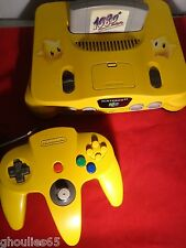 CONSOLE NINTENDO 64 COMPLETE CONSOLE CUSTOM N 64 N64