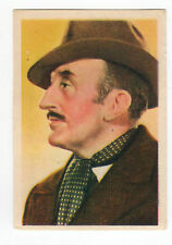 1936 Spanish Nestle Film Star Paper Thin Stamp Sticker  #73 Tom Walls