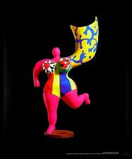Niki de saint phalle Ange Luminaire poster image Art pression dans le cadre alu 58x48cm