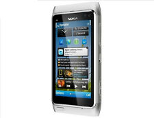 Nokia N Series N8 16GB Silver(Unlocked) Smartphone WIFI GPS 12MP Free Shipping