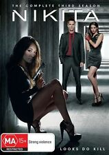 NIKITA: Season 3 (DVD, 5 Disc-set)