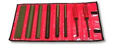 PERMAGRIT 8pc FINE GRIT TOOL ROLL SET 8F The best sanding tools? EXPO 74490