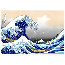 The Great Wave off Kanagawa by Hokusai Deco FRIDGE MAGNET, Japanese Mt. Fuji