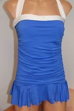 NWT Ralph Lauren Swimsuit 1 one piece Size 14 attached skirt PER Slimming fit