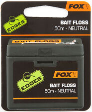 FOX EDGES BAIT FLOSS NEUTRAL CARP SPECIMEN FISHING HOOKLENGTH TACKLE 50m