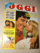 OGGI=1981/11=GIGI PROIETTI=LUCIO DALLA=STERLING SAINT JACQUES=BARBARA BACH=