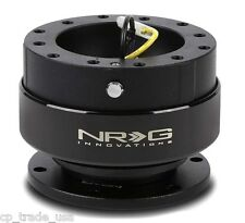 NRG STEERING WHEEL BALL LOCK QUICK RELEASE GEN 2.0 BLACK SRK-200BK-1